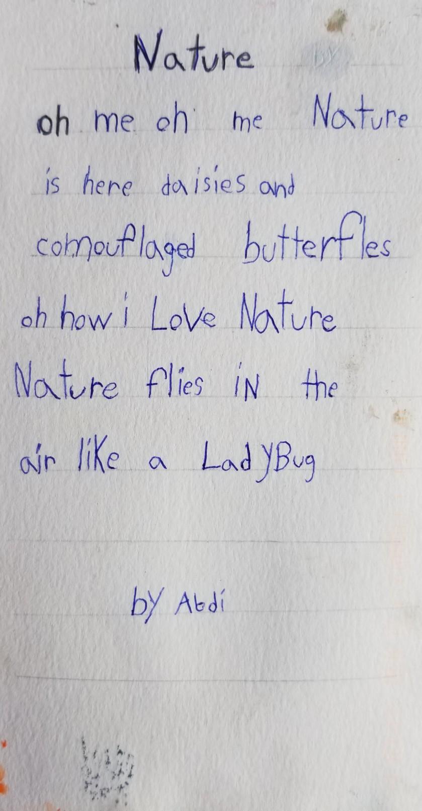 Abdi MN poem